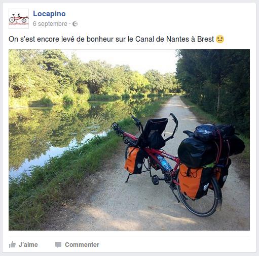 On s'est encore levé de bonheur sur le Canal de Nantes à Brest