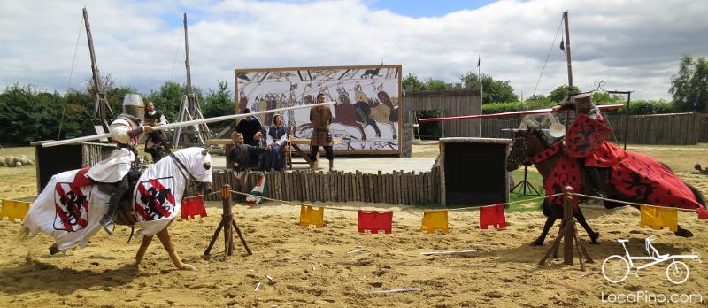 Le spectacle du spectacle de Tiffauges, sur la Vendée Vélo