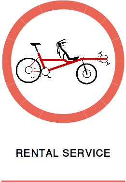Description of our Pino tandem hire / rental service