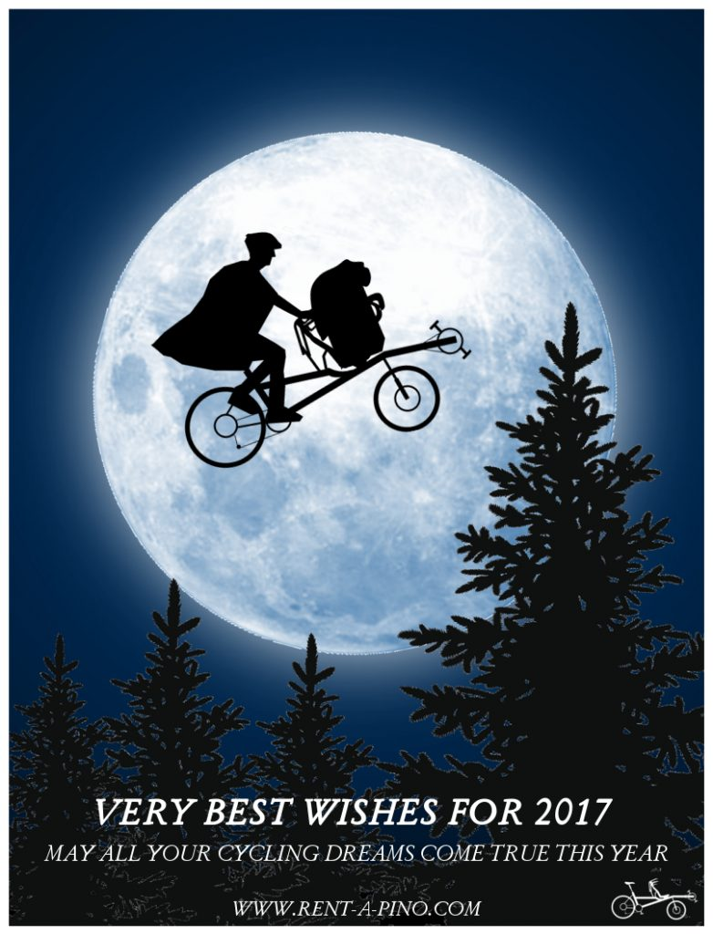 Rent-a-pino wishes card for 2017