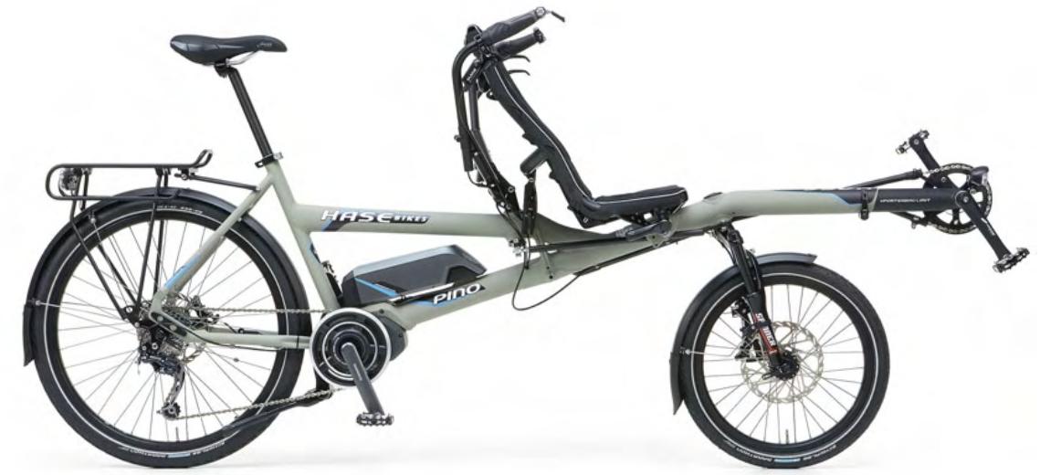 Le Pino de Hase Bikes dans sa version à assistance électrique VAE STEPS